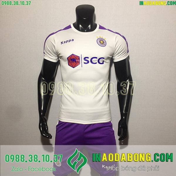Áo bóng đá câu lạc bộ Hà Nội 2020 màu trắng