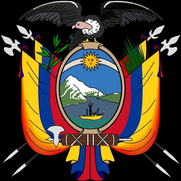 escudo Ecuador color
