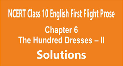 Chapter 6 The Hundred Dresses – II