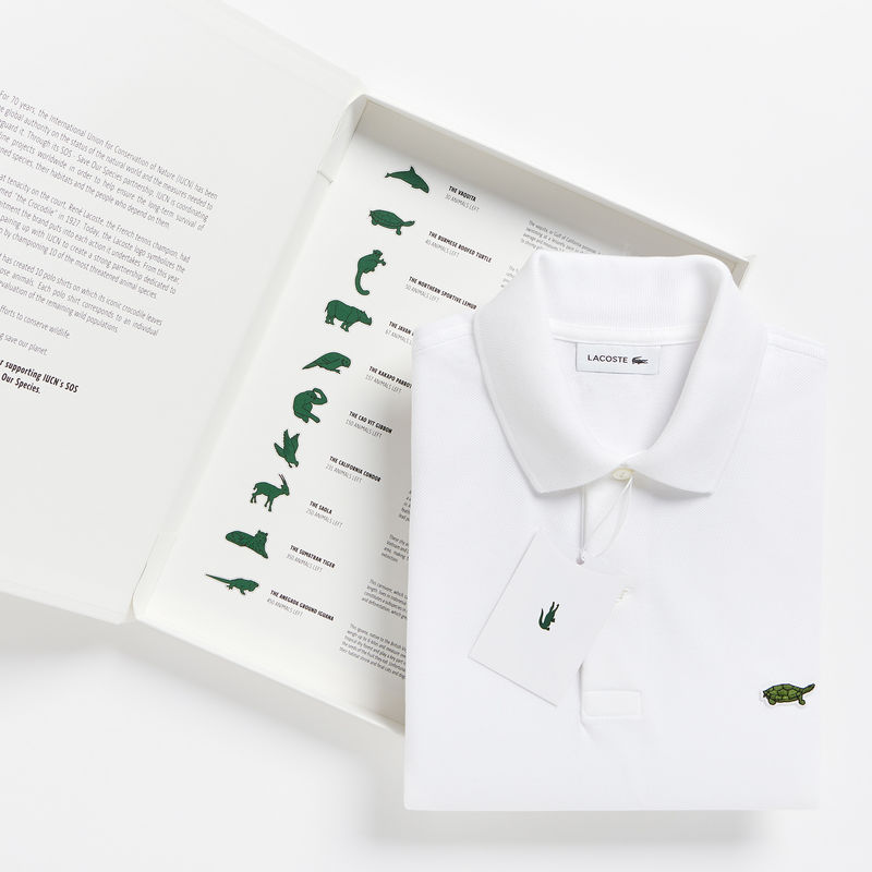 ef18aee2a008d Fofurices Triviais   Lacoste   Save Our Species