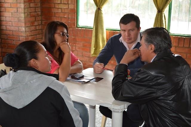 A la vereda Santa Marta de Facatativá llegó programa de atención psicosocial y asesoría jurídica