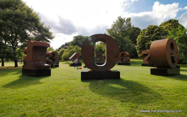 Strolling By Life Size Sculptures In Regent S Park My Traveling Joys
