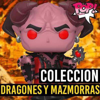 Lista de figuras Funko POP Dragones y Mazmorras