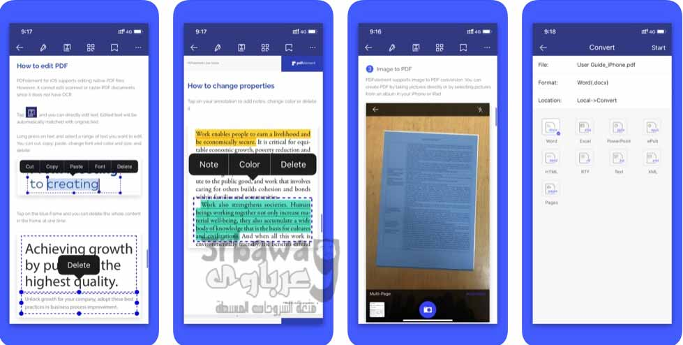 تطبيق: PDFelement - PDF Editor