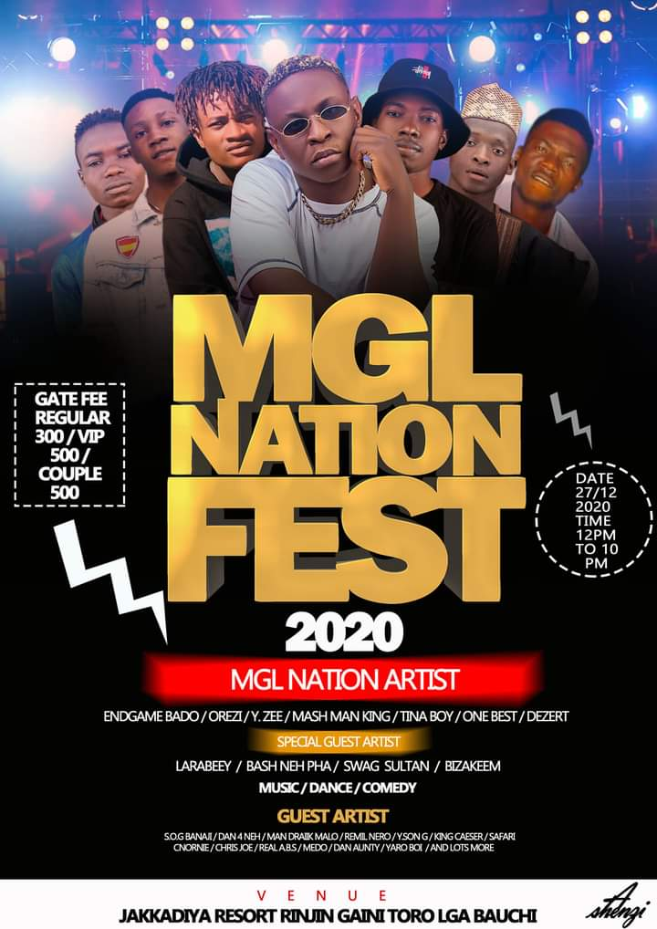 [Event] MGL NATION FEST 2020 - Meet Endgame bado, and other stars #Arewapublisize