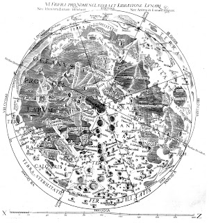Riccioli's moon map was drawn in 1651