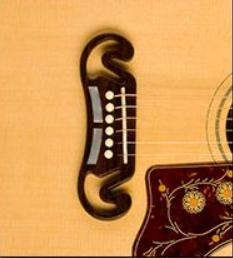 Gibson Jumbo Acoustic Guitar Bridge