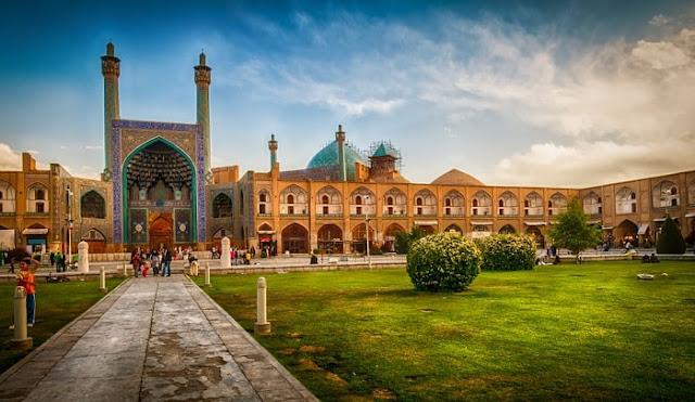 Naqsh Jahan Square in Isfahan Iran