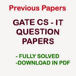 GATE CS-IT Papers   Download Previous Year Question Papers