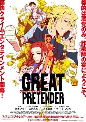 تقرير انمي المتظاهر العظيم | Great Pretender