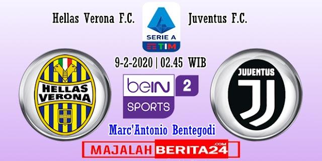 Prediksi Hellas Verona vs Juventus — 9 Februari 2020
