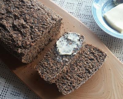 Poppy Seed-Bran Soda Bread