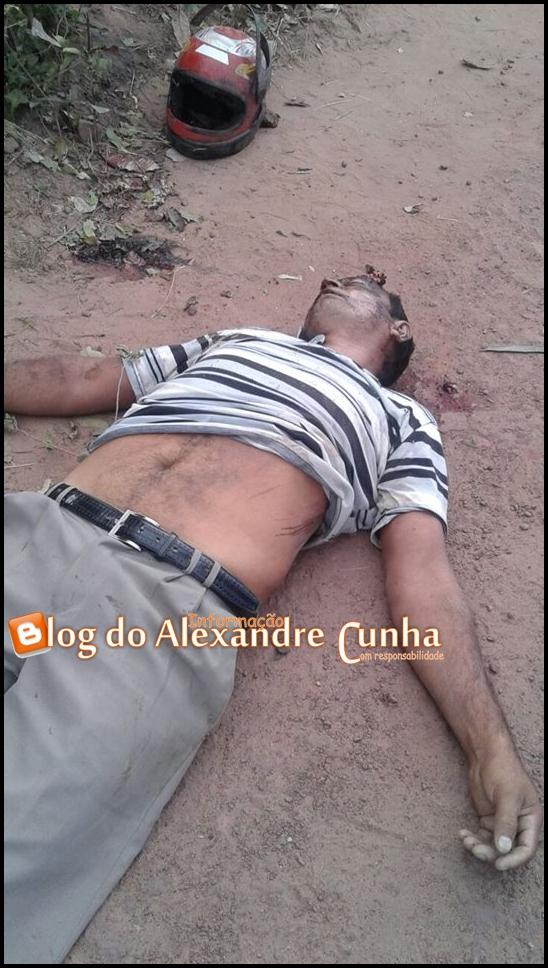 Latrocínio: Homem é morto com um tiro na testa no interior de Brejo, vitima teve uma moto roubada