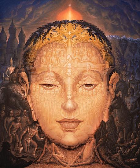 Buda - Octavio Ocampo e Suas Pinturas Cheias de Ilusões
