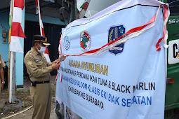 Pemkot Biak Numfor Kirim 1 Kontainer Ikan Tuna dan Black Marlin ke Surabaya