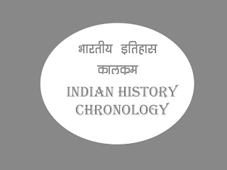 Chronology Of Indian History in Hindi