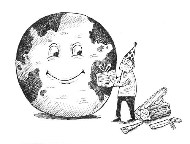 gambar karikatur keren
