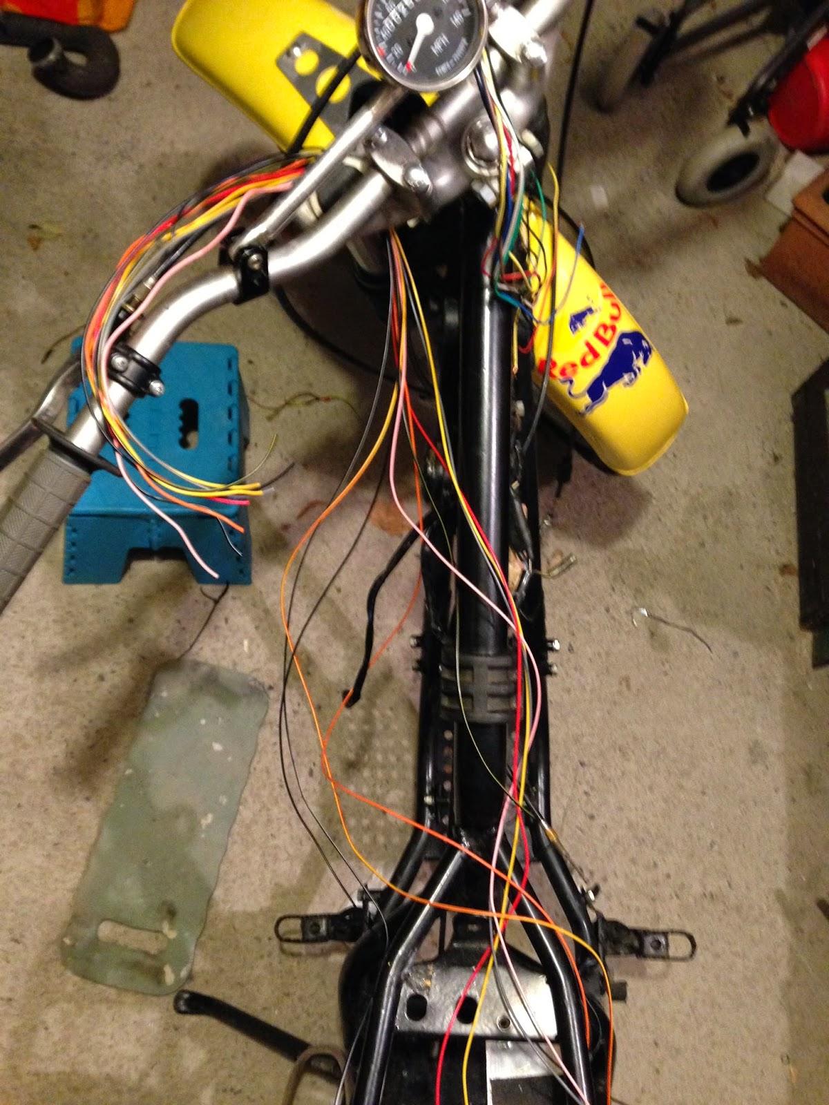 small resolution of suzuki ts250 rebuild part 4 rewiring rh ts250 blogspot com 1973 suzuki ts250 wiring diagram 1981