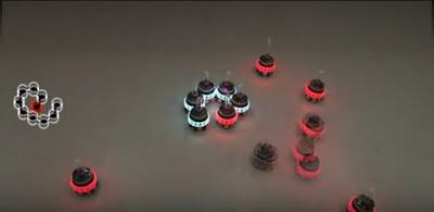 Robot futuri micro unità mutaforma