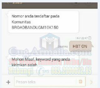 Delete ID CUG Komunitas Telkomsel