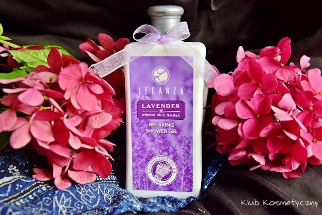 Leganza, relaksujący żel pod prysznic o zapachu lawendy