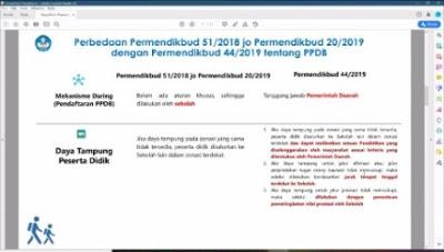 Kemendikbud Dorong Pemda Terapkan PPDB 2020 Secara Daring Untuk Pencegahan Covid-19
