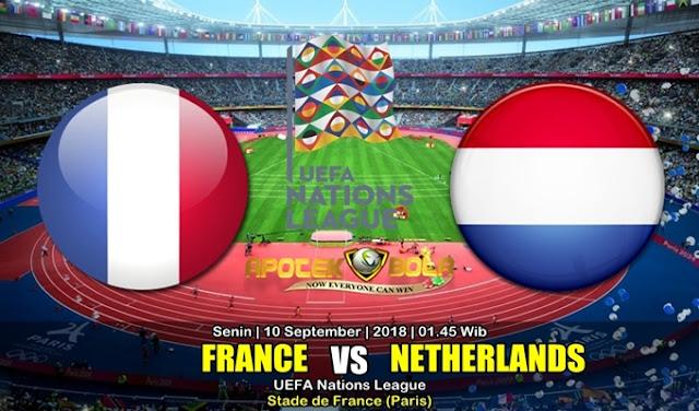 Prediksi Prancis vs Belanda 10 Septemmber 2018