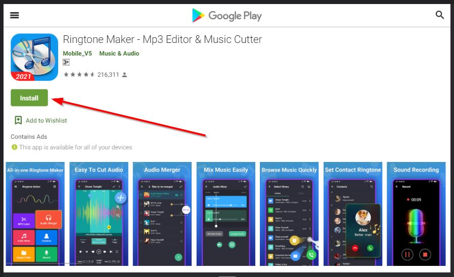 aplikasi ringtone maker untuk android