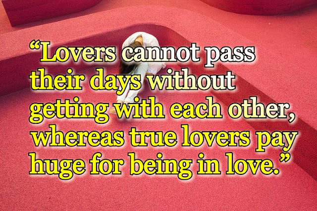 True love quote about love