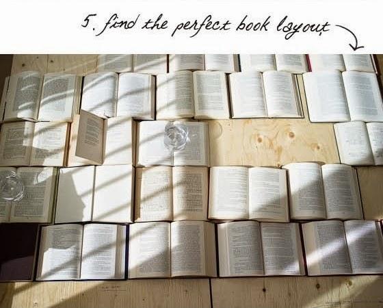 Cara Membuat Kerajinan Tangan Dari Barang Bekas - Headboard Buku Bekas 5
