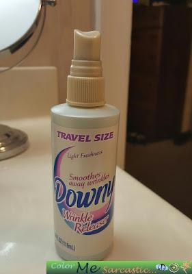 Downy Wrinkle Release Spray Bottle