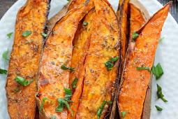 Exstra Crispy Sweet Potato Wedges