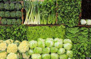 sayuran hijau | 5 makanan penambah trombosit