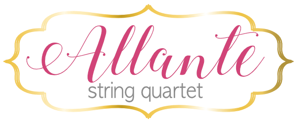 Allante String Quartet Music Utah Wedding Music Special Event Music