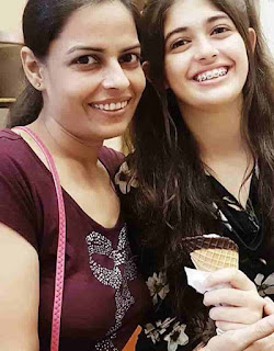 Urvi Singh With Her Mother