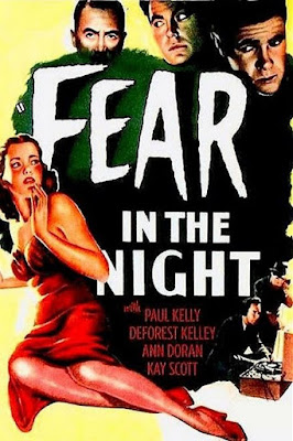 Póster película Fear in the Night - 1947