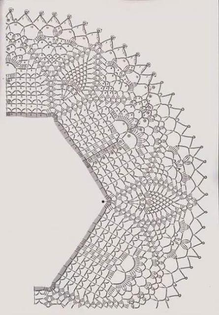 World crochet: Napkin 308