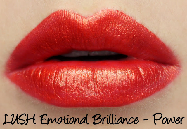 LUSH Emotional Brilliance - Power Swatches & Review