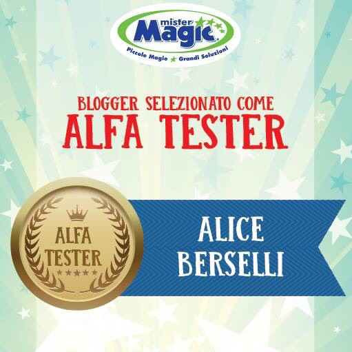 Certificato Alfa Tester Mister Magic