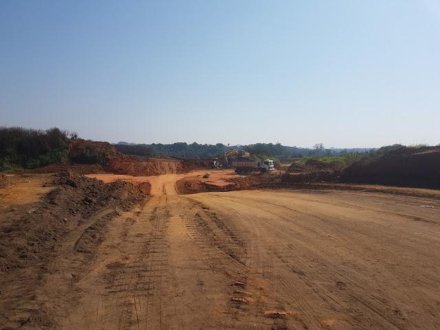 Deracre inicia obra para abertura de estrada que liga Rodrigues Alves a Cruzeiro do Sul