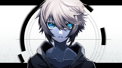 Anime Boy Wallpaper, Look, Blue Eyes, White Hair
