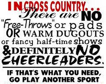 Grady High School Cross Country Fun Cross Country Sayings