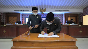 Wali Kota Tangerang Jawab Pandangan Umum Fraksi Atas 3 Raperda