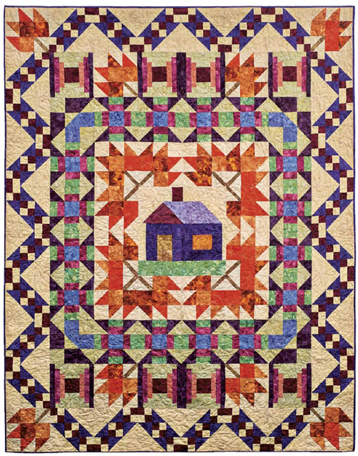 Maple Ridge Quilt designed by Lynda Hahn and Deb Stanley for AQSblog