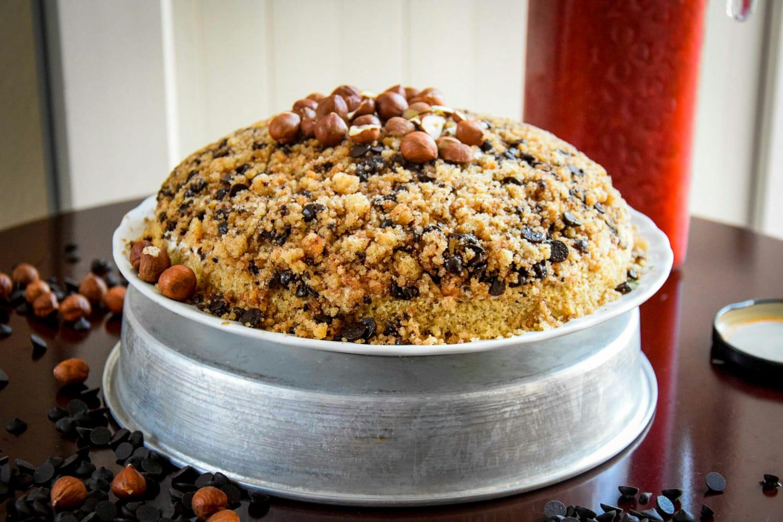 Kiras Bakery Schoko Nuss Kuchen