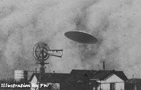 UFO Over Aurora Texas 1897