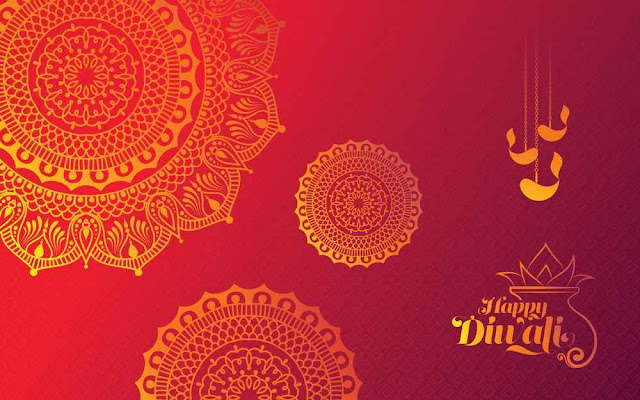 Diwali Background Template