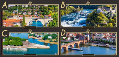 Q 17. Which of these pictures were not taken in Germany?