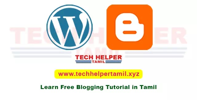 A Successful Way to Create a Blog in Tamil