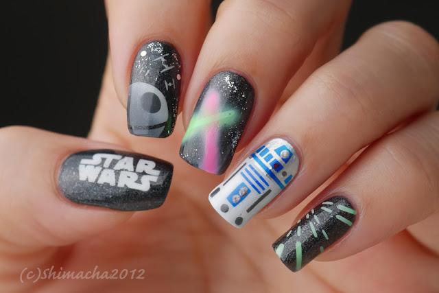 Star Wars Nails, スターウォーズネイル